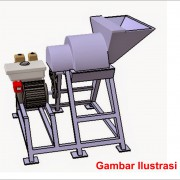 Mesin Press Wafer Jerami